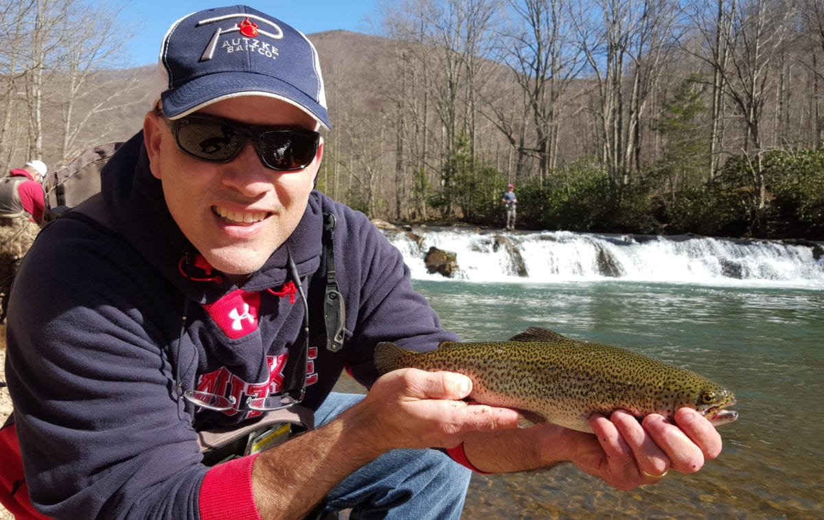 West virginia s elk river stocked weekly with trout for Wv fish stocking