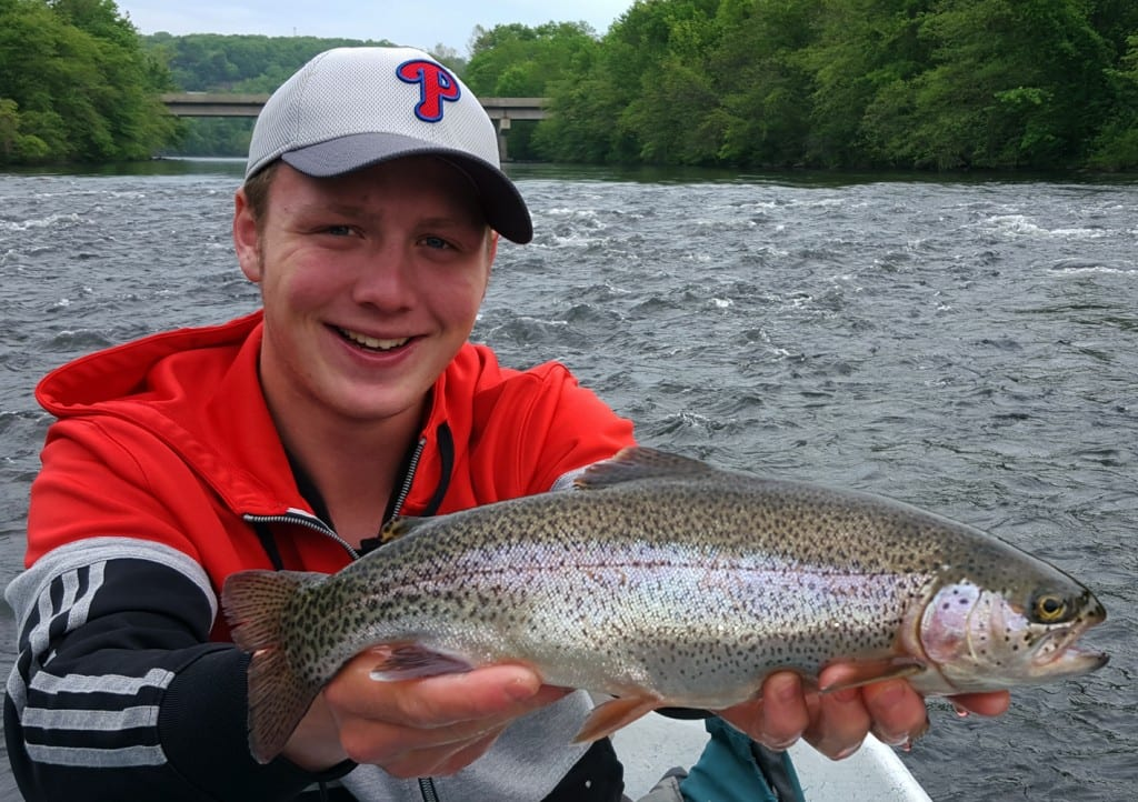 pa s lehigh river still producing big trout pautzke bait co
