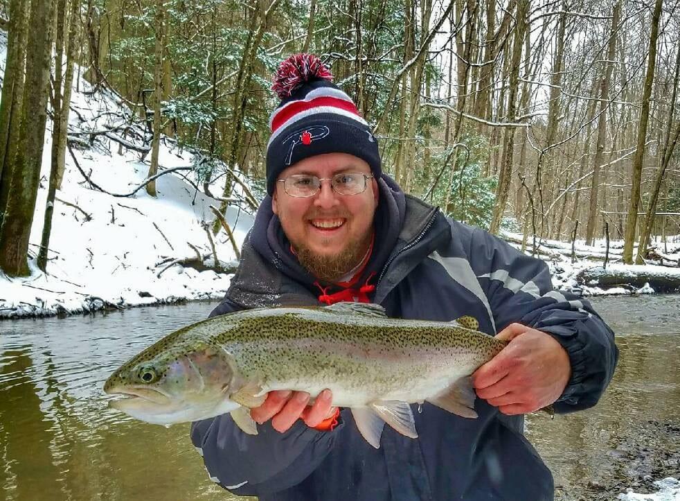 Bundle up for erie winter steelhead pautzke bait co for Steelhead fishing report erie pa