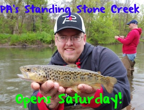 PA's Standing Stone Creek Opens Saturday