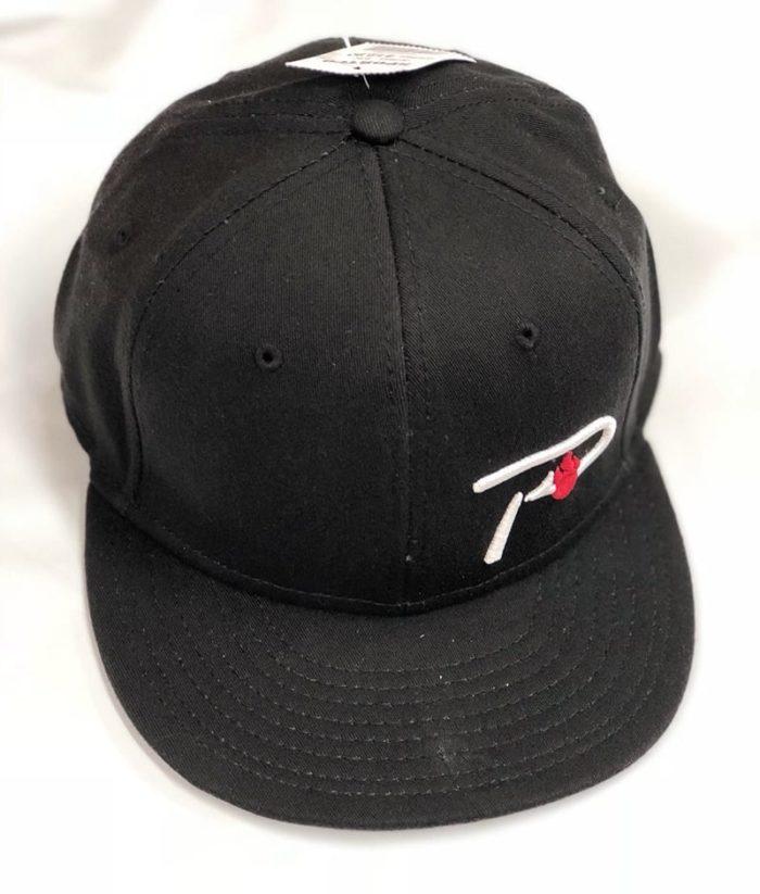 hat-flat bill P Hook-black